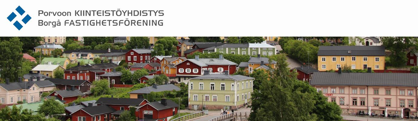 Porvoon kiinteistöyhdistys - Borgå fastighetsförening