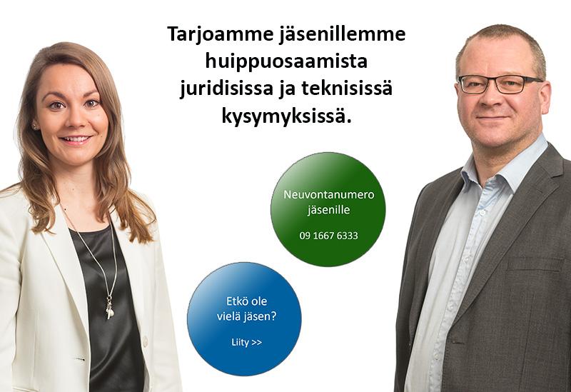 Kiinteistöliitto Uusimaan tarjoaa huippuosaamista juridisissa ja teknisissä kysymyksissä